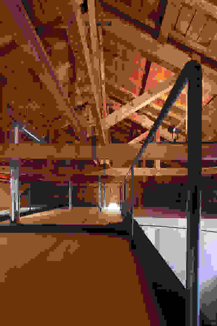 ロフト ARCHIXXX眞野サトル建築デザイン室 和風デザインの 子供部屋