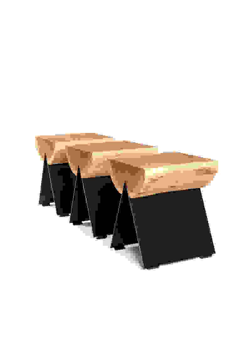 stołek 1/2 od WITAMINA D Minimalistyczny