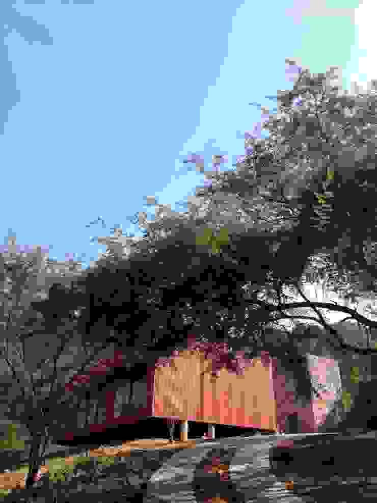 Rojo Óxido Casas industriales de Inicio Estudio Industrial