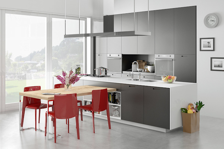 RedLab Digitalarts Modern kitchen