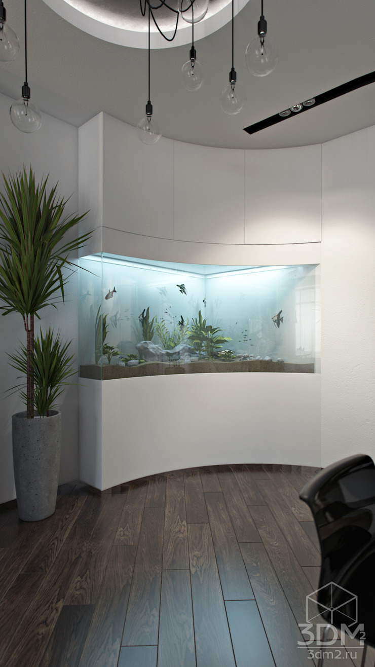 08 Коридор, прихожая и лестница в стиле минимализм от студия визуализации и дизайна интерьера '3dm2' Минимализм