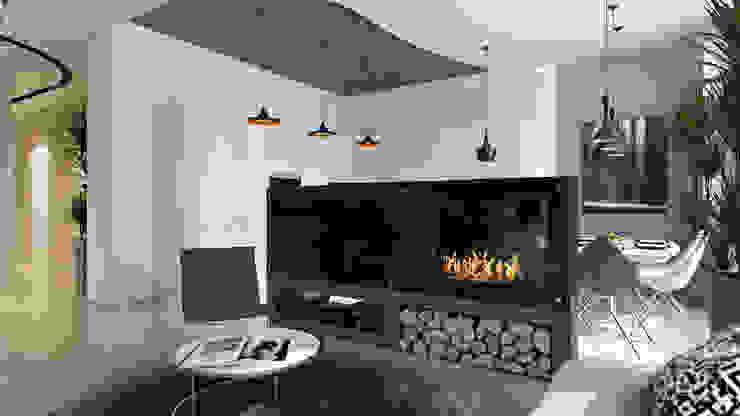 Media room by студия визуализации и дизайна интерьера '3dm2', Minimalist