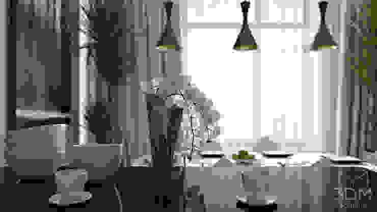 17 Кухня в стиле минимализм от студия визуализации и дизайна интерьера '3dm2' Минимализм