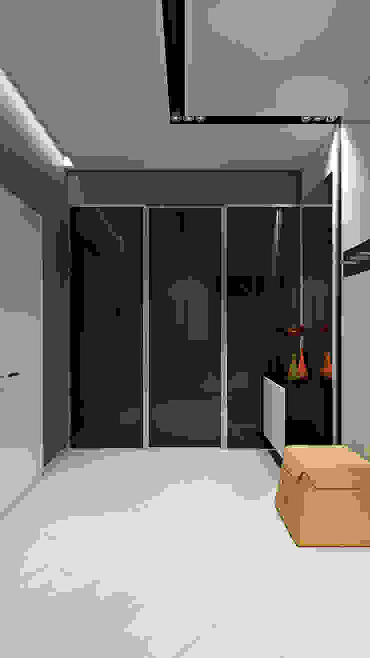 27 Коридор, прихожая и лестница в стиле минимализм от студия визуализации и дизайна интерьера '3dm2' Минимализм