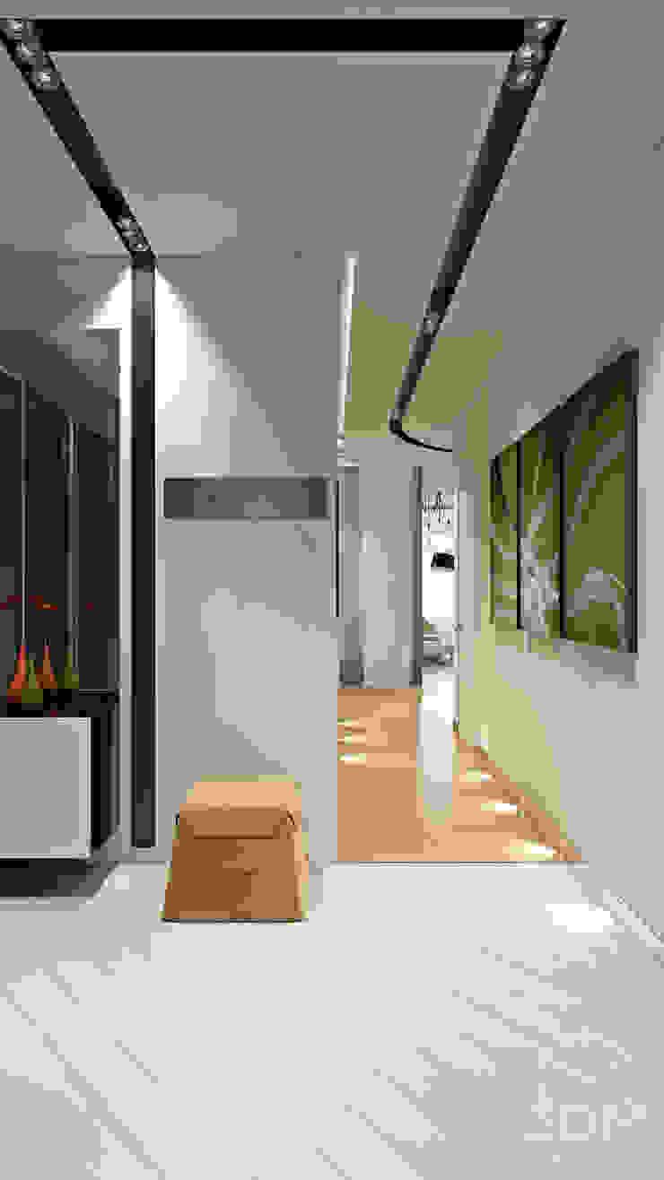28 Коридор, прихожая и лестница в стиле минимализм от студия визуализации и дизайна интерьера '3dm2' Минимализм