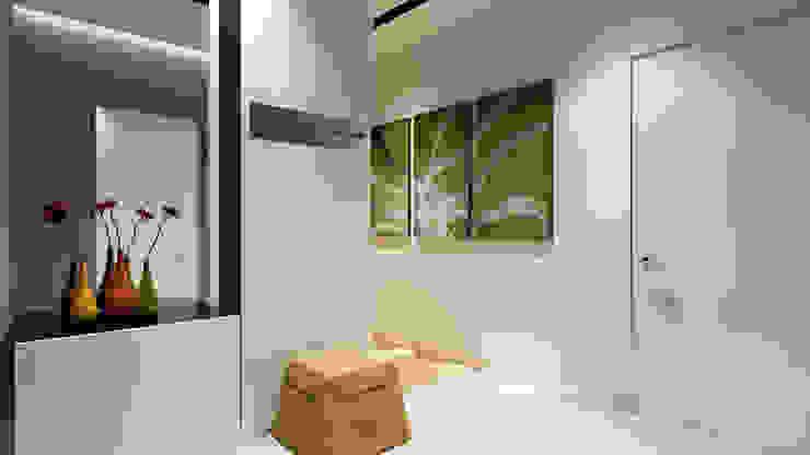 29 Коридор, прихожая и лестница в стиле минимализм от студия визуализации и дизайна интерьера '3dm2' Минимализм