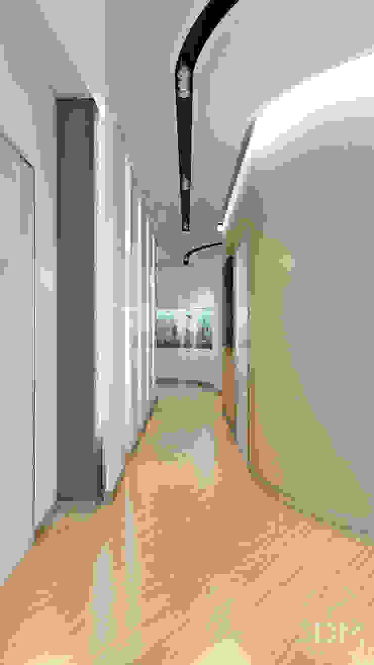 31 Коридор, прихожая и лестница в стиле минимализм от студия визуализации и дизайна интерьера '3dm2' Минимализм