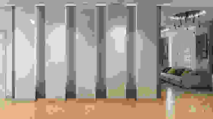 32 Коридор, прихожая и лестница в стиле минимализм от студия визуализации и дизайна интерьера '3dm2' Минимализм