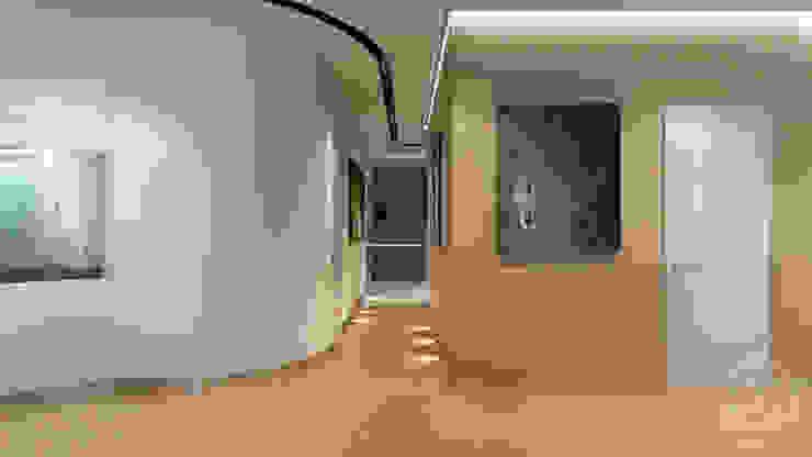 33 Коридор, прихожая и лестница в стиле минимализм от студия визуализации и дизайна интерьера '3dm2' Минимализм