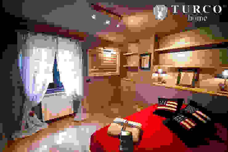 러스틱스타일 침실 by turco home srl 러스틱 (Rustic)