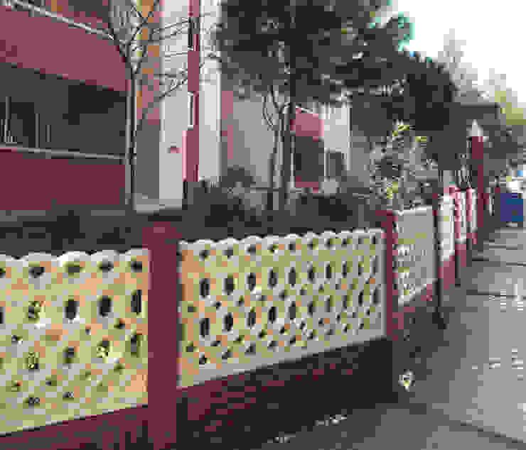 120 cm yükseklikte klasik apartman duvarı örneği BAHÇE DEKOR Beton Bahçe Elemanları ve Gıda San. Tic. Ltd. Şti. Klasik