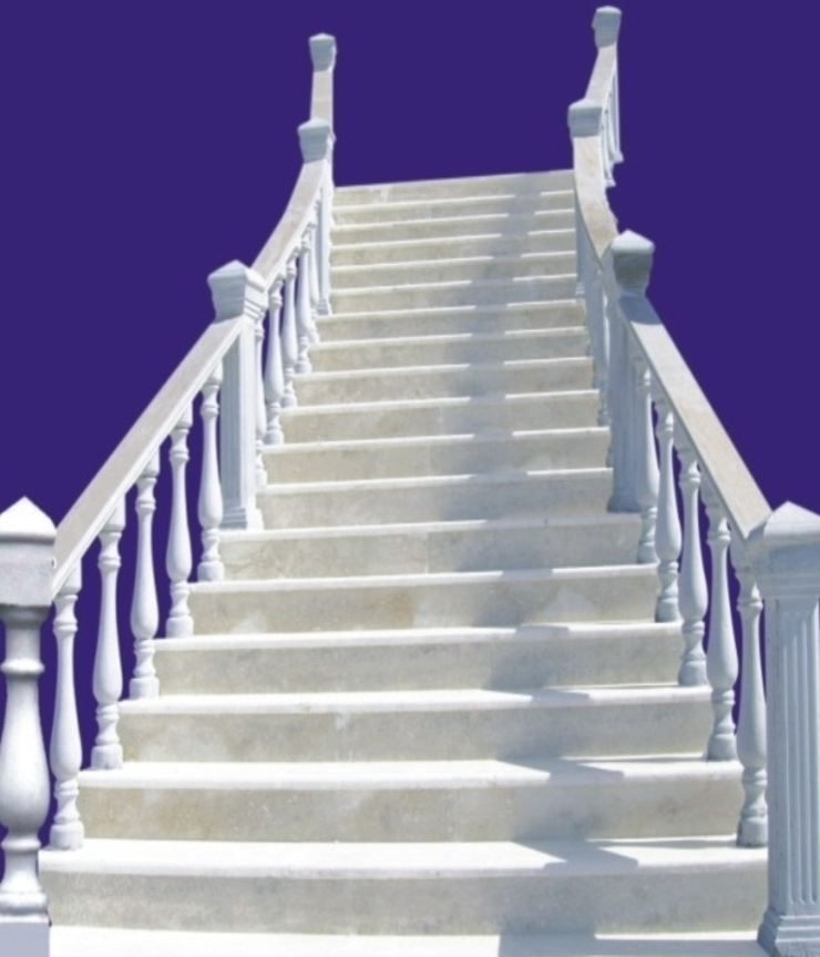 BAHÇE DEKOR Beton Bahçe Elemanları ve Gıda San. Tic. Ltd. Şti. Couloir, entrée, escaliersEscaliers