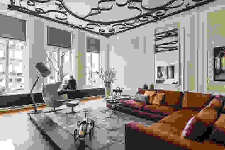 Projekty,  Salon zaprojektowane przez Studio RUIM, Nowoczesny