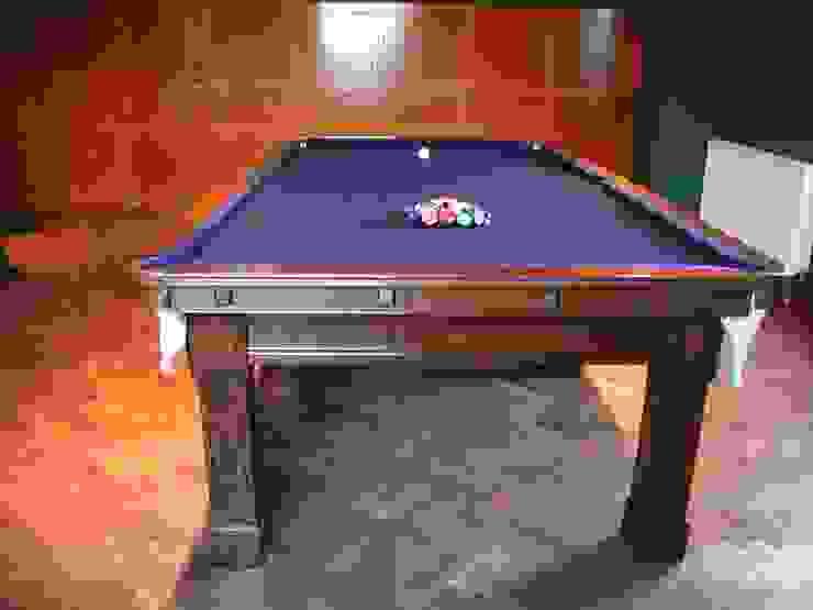 9 ft Fabio Snooker/Pool Table with purple cloth: classic  by HAMILTON BILLIARDS & GAMES CO LTD, Classic