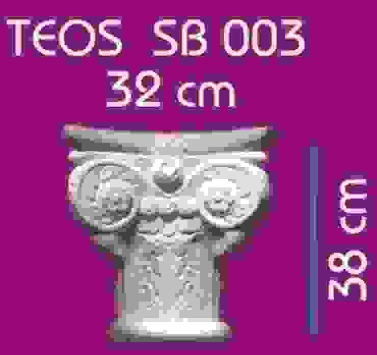 BAHÇE DEKOR Beton Bahçe Elemanları ve Gıda San. Tic. Ltd. Şti. Balcon, Veranda & TerrasseAccessoires & décorations