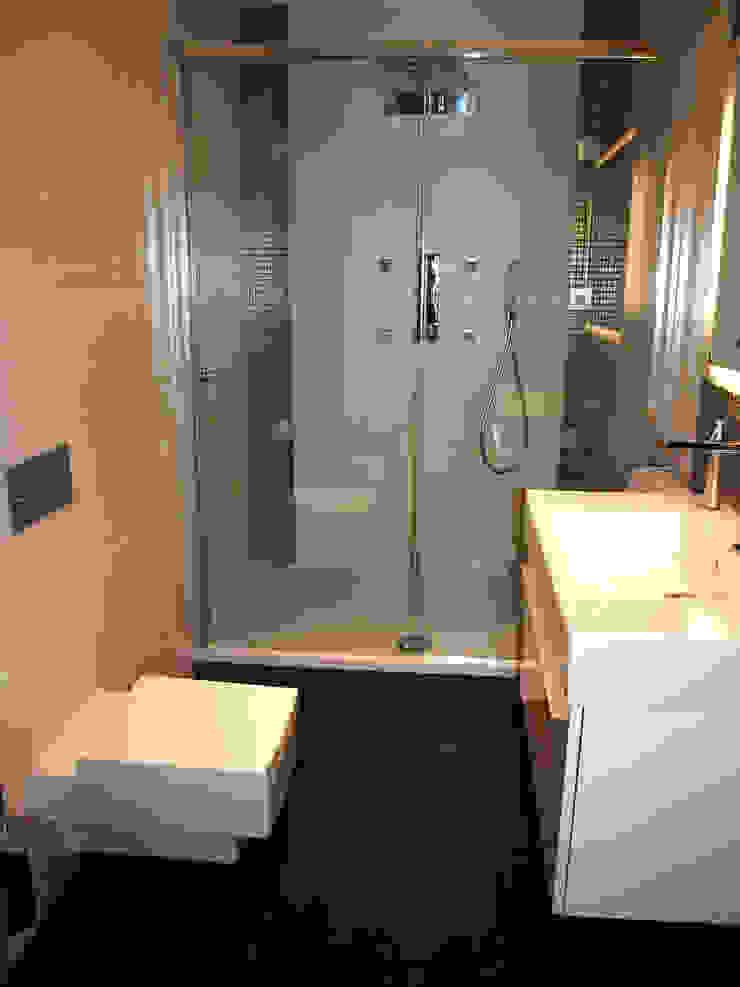 4Q DEKTON Pracownia Architektoniczna Modern bathroom