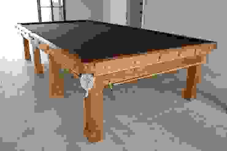 Full-Size (12' x 6') Fabio Snooker Table in oak.: classic  by HAMILTON BILLIARDS & GAMES CO LTD, Classic