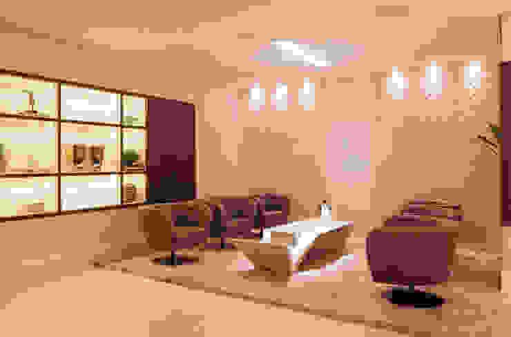 Mostra Casa Cor SC 2014 Salas de jantar modernas por Calli Arquitetura Moderno