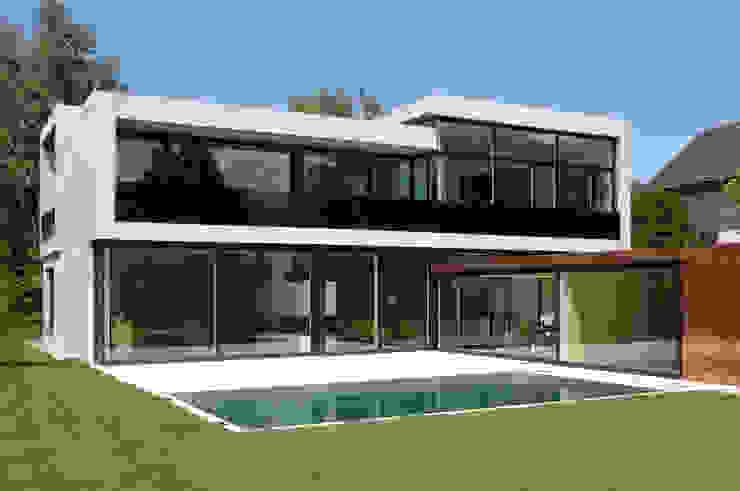 Casas modernas por Früh Architekturbüro ZT GmbH Moderno