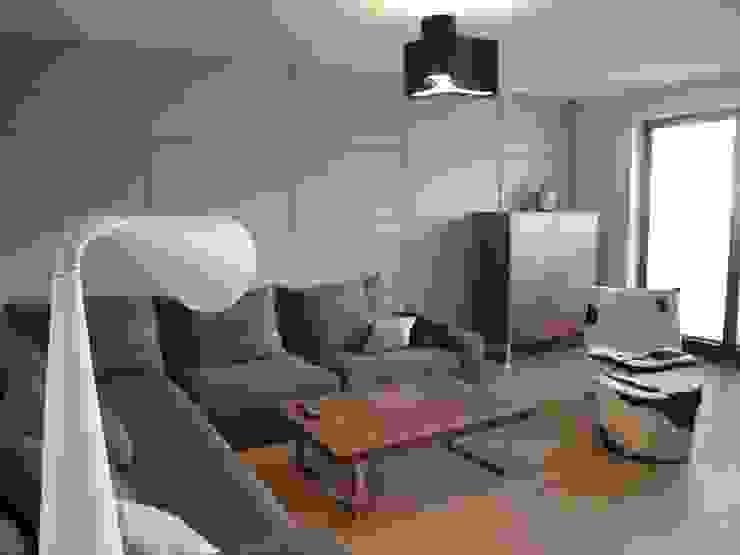 4Q DEKTON Pracownia Architektoniczna Living room