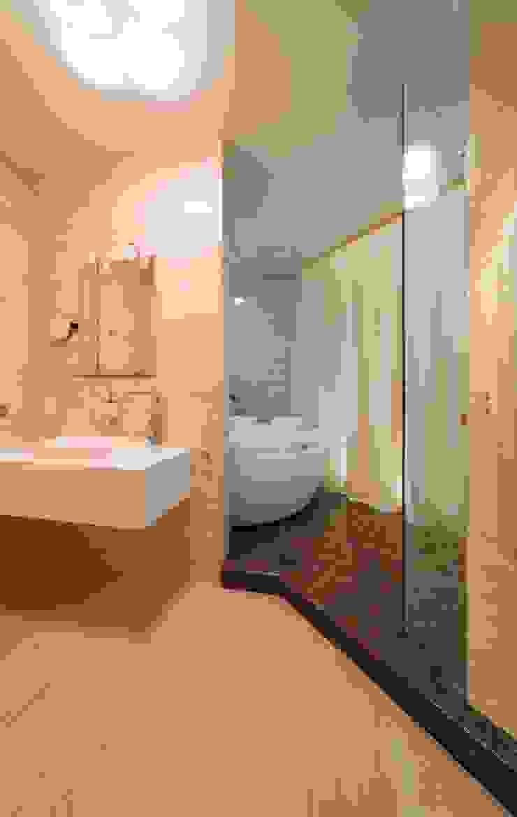 Московская квартира в облаках. Ванная комната в стиле минимализм от Хандсвел Минимализм