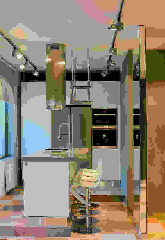 Лофт: петербургская версия Кухня в стиле лофт от mariavasilenko.ru Лофт