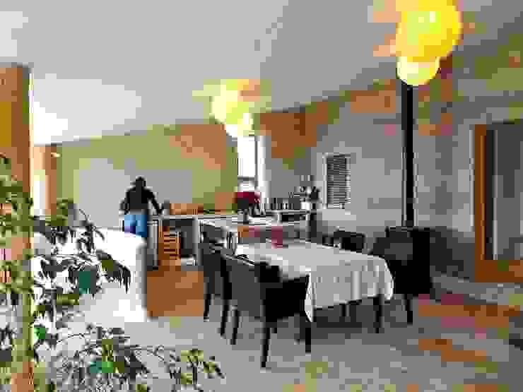 la cuisine et la salle à manger Cuisine originale par Karine Montagnon Éclectique