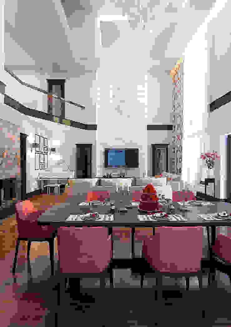 INTERIERIUM 现代客厅設計點子、靈感 & 圖片