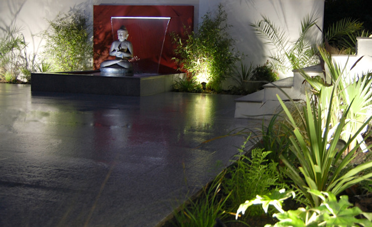 The Buddha Garden 모던스타일 정원 by Robert Hughes Garden Design 모던