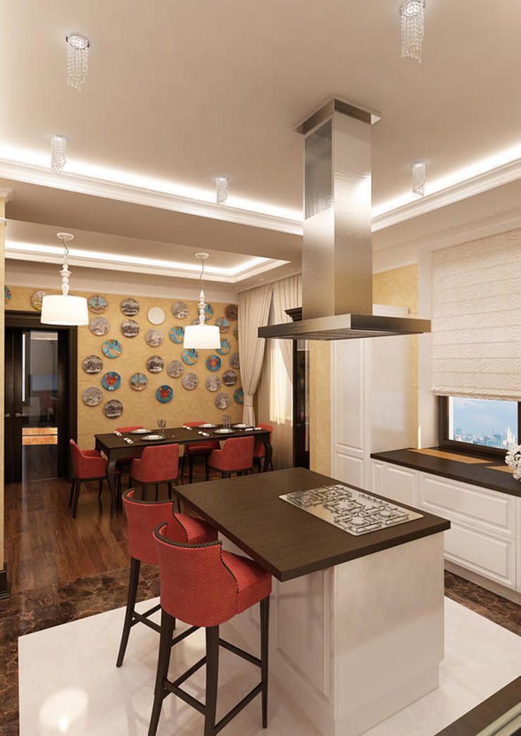 INTERIERIUM 現代廚房設計點子、靈感&圖片