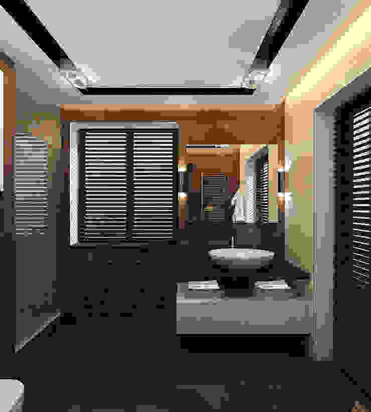 INTERIERIUM 現代浴室設計點子、靈感&圖片