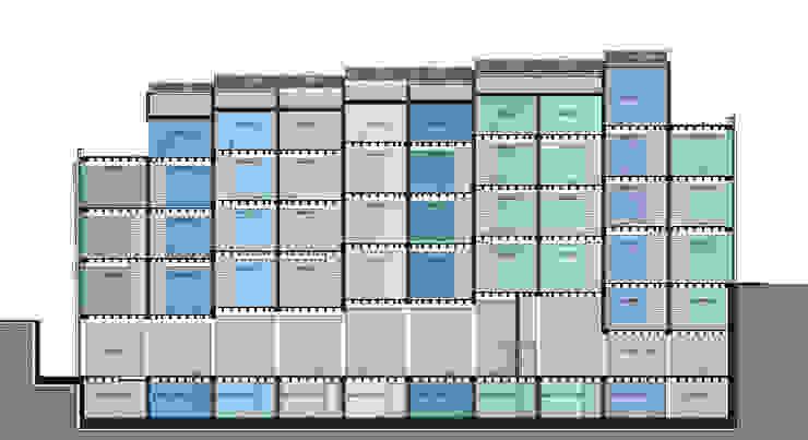 MERTER SHOPPING MALL GOOA|GLOBAL OFFICE OF ARCHITECTURE Modern