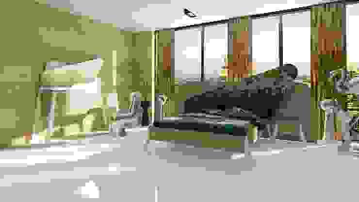 Moroso:The beauty of design bedroom Inan AYDOGAN /IA Interior Design Office Rustik