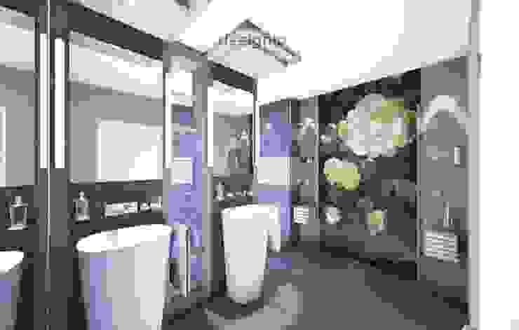Duschen von Designio - Art of Bath®: Die prickelnde Dusche wird hier zum Genuss. Bequem, funktional, in eleganter Symbiose mit Kunst. Moderne Badezimmer von Art of Bath Modern