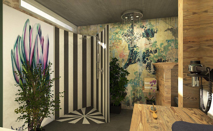Exklusives Spa Design Minimalistische Badezimmer von Art of Bath Minimalistisch