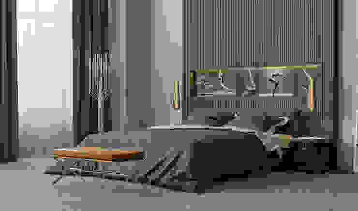 Modern Yatak Odası ILKIN GURBANOV Studio Modern