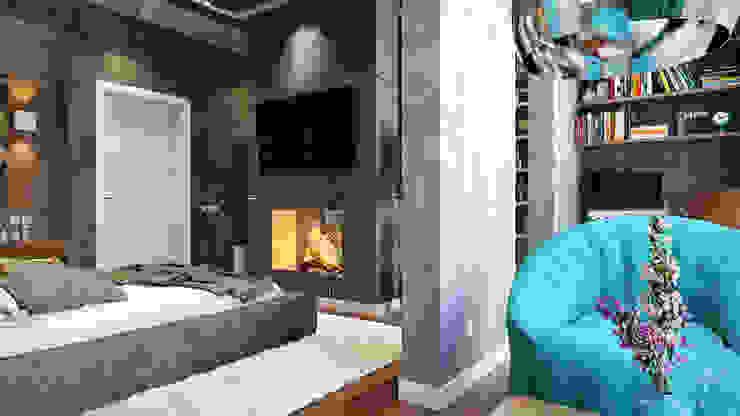Terrace by студия визуализации и дизайна интерьера '3dm2', Industrial