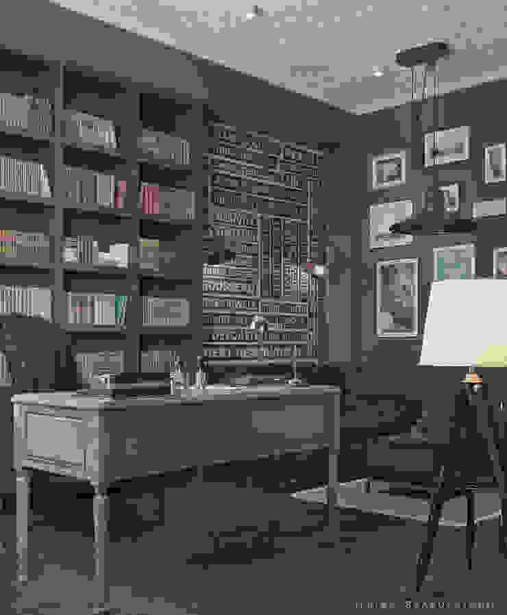 Дизайн кабинета в Баку Рабочий кабинет в классическом стиле от ILKIN GURBANOV Studio Классический