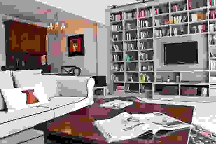 Living room by seldacampling, Modern