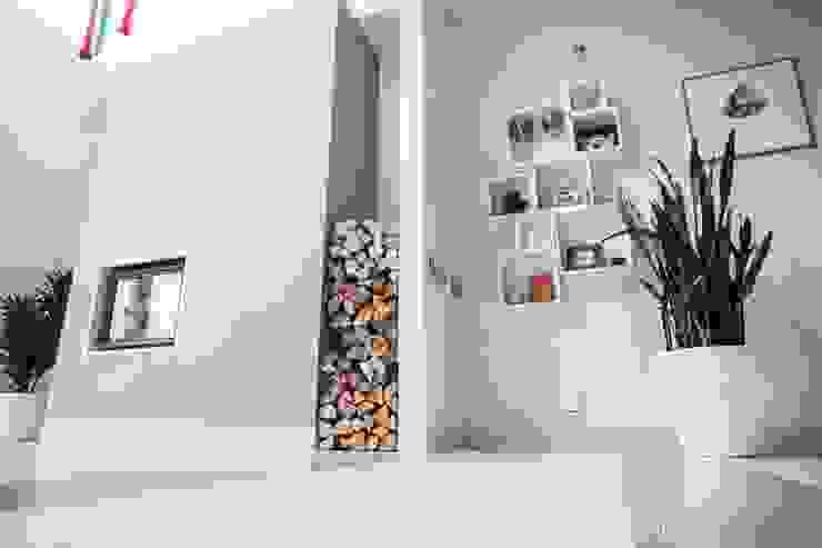 Kominek: styl , w kategorii Salon zaprojektowany przez Atelier Słowiński,Minimalistyczny