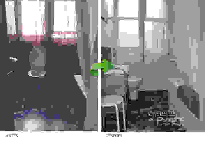 Antes y después del baño de Casas a Punto home staging