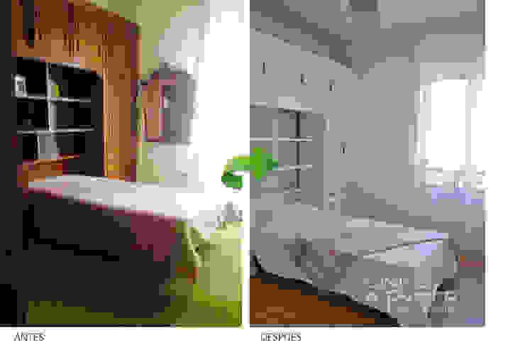 Renovación dormitorio antiguo. de Casas a Punto home staging
