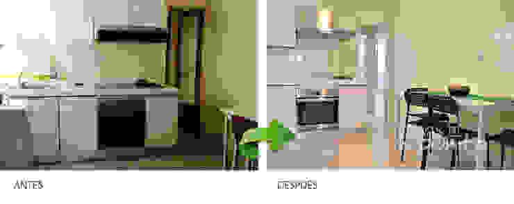 Renovar cocinas a bajo coste. de Casas a Punto home staging