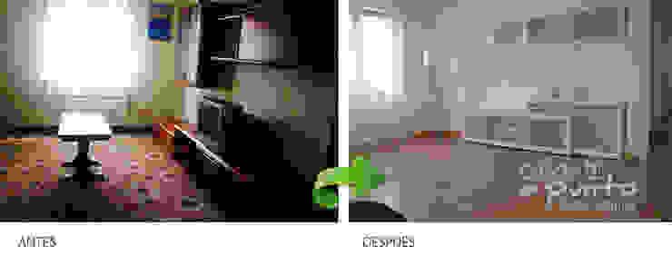 Vivienda en Vizcaya-Bizkaia, re- decoración a bajo coste. de Casas a Punto home staging