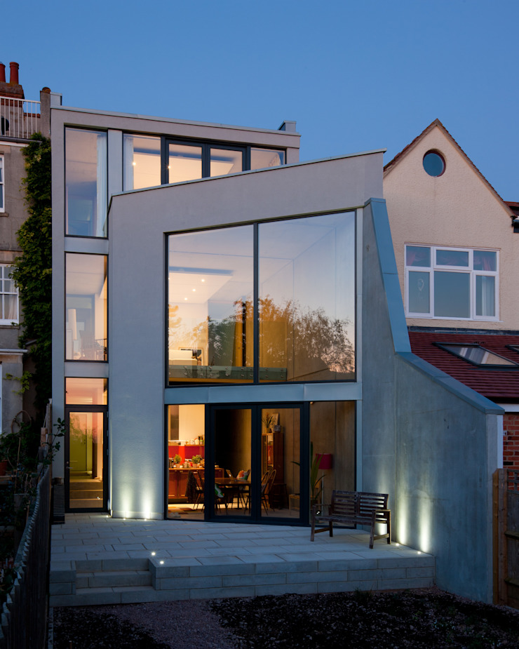 Hill Top House Modern houses by Adrian James Architects Modern