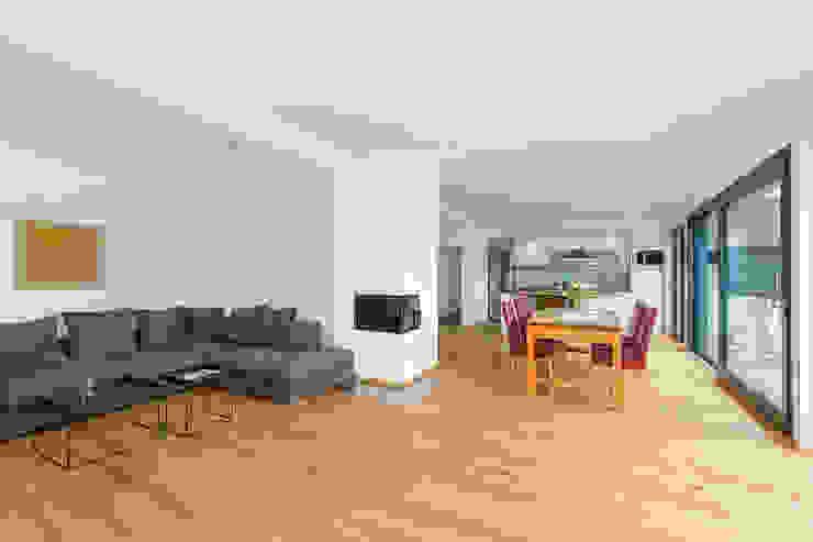 Wohnen Essen Kochen homify Moderne Wohnzimmer