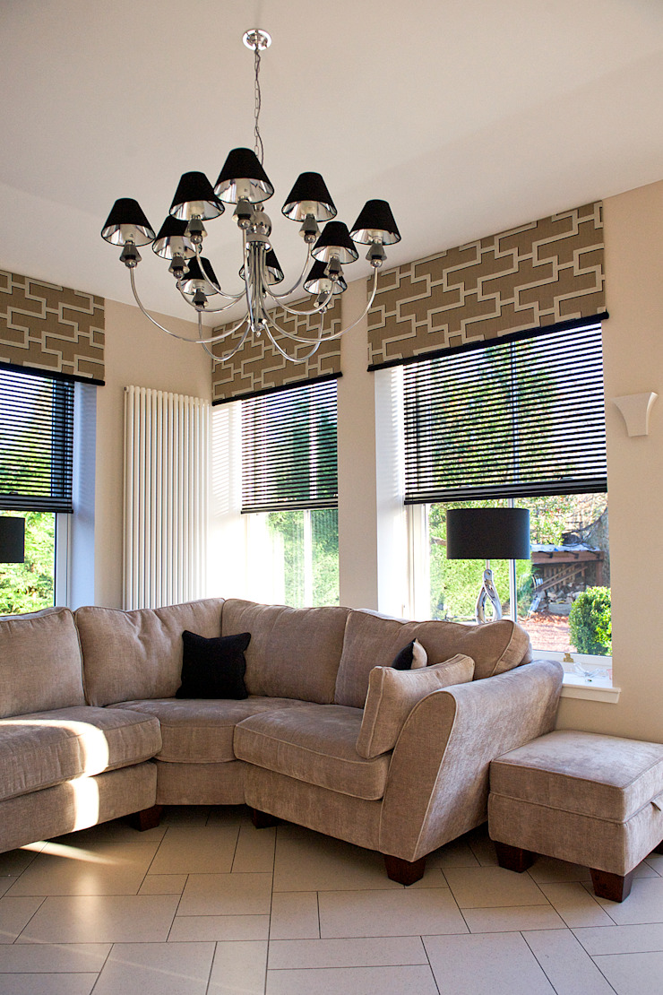Ramsden House, Peterculter, Aberdeen Modern living room by Roundhouse Architecture Ltd Modern
