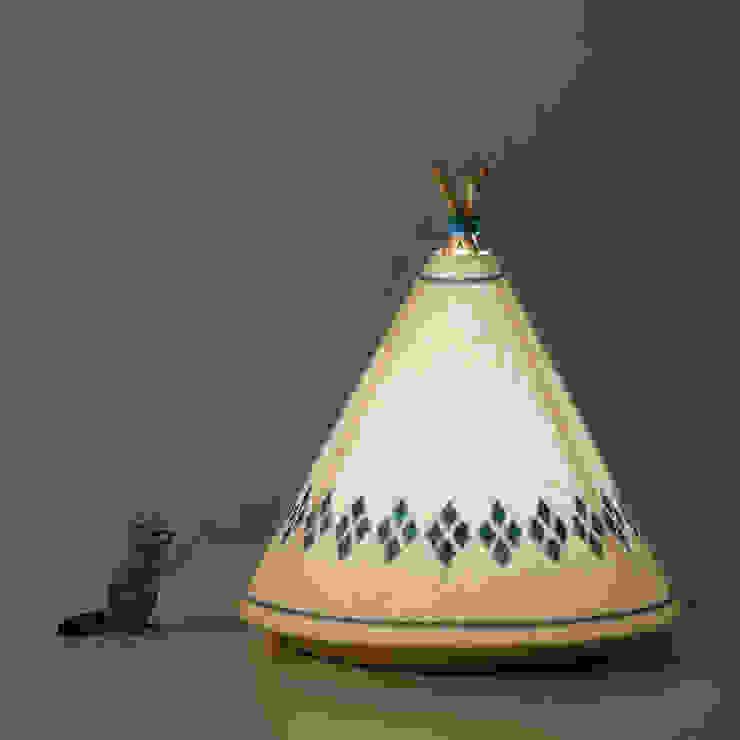 TIPI Lamp / BUOKIDS de Javier Herrero* Studio Escandinavo