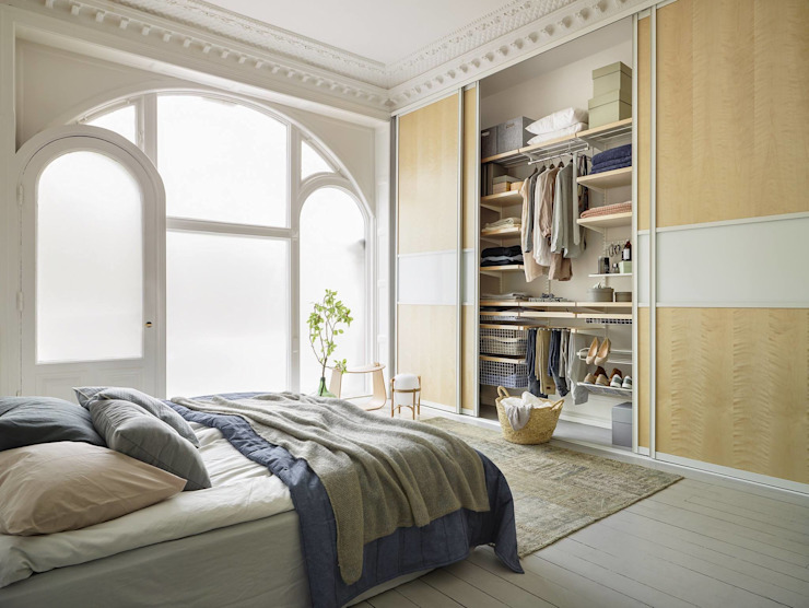 Scandinavian style bedroom by Elfa Deutschland GmbH Scandinavian