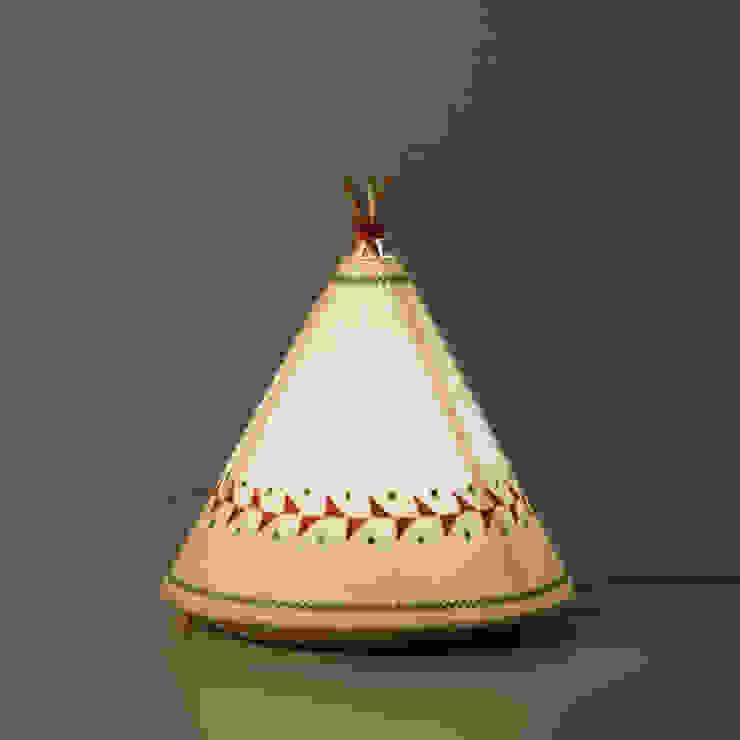 TIPI Lamp / BUOKIDS de Javier Herrero* Studio Rural